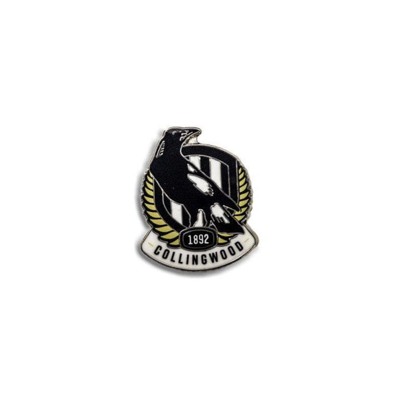 Footy Plus More pin Collingwood Magpies Logo Pin New Logo