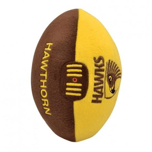 Footy Plus More plush Hawthorn Hawks 18CM Soft Plush Footy