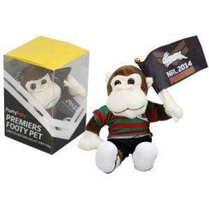 Footy Plus More plush South Sydney Rabbitohs 2014 Limited Edition Premiers Plush Monkey