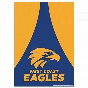 Footy Plus More Poster A2 West Coast Eagles Poster