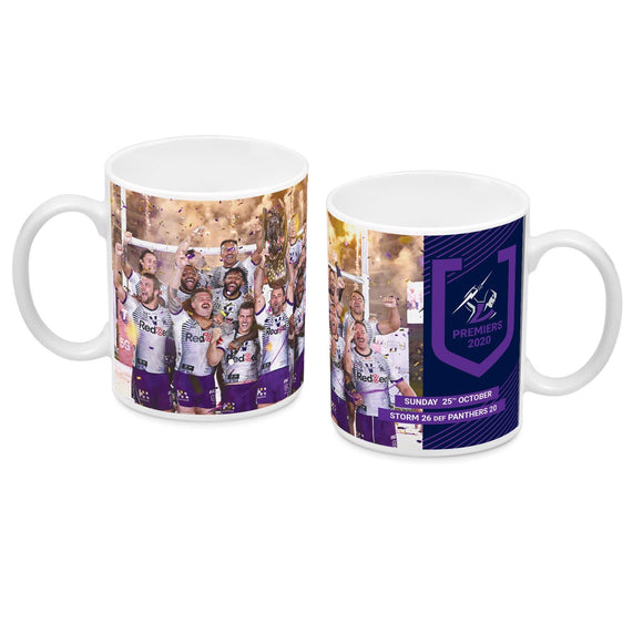 Footy Plus More Premiers 2020 2020 Melbourne Storm Premiers Team Image Mug