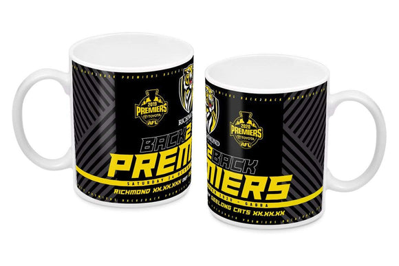 Footy Plus More Premiers 2020 2020 Richmond Tigers Premiers Score Mug