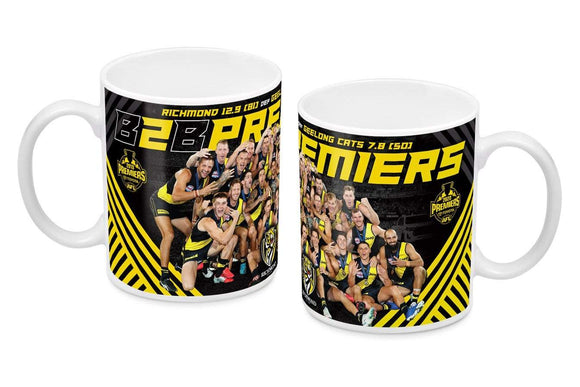 Footy Plus More Premiers 2020 2020 Richmond Tigers Premiers Team Image Mug