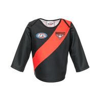 Footy Plus More REPLICA GUERNSEY Essendon Bombers Infant Toddler Long Sleeve Guernsey