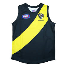 Footy Plus More REPLICA GUERNSEY Richmond Tigers Youth Replica Guernsey