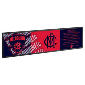 Footy Plus More Runner Melbourne Demons Bar Runner