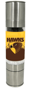 Footy Plus More salt and pepper grinder Hawthorn Hawks Salt and Pepper Grinder