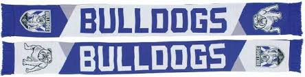 Footy Plus More SCARF Canterbury Bulldogs Geo Pannel Scarf