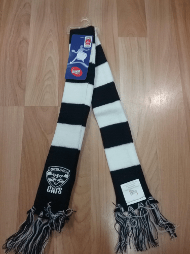 Footy Plus More SCARF Geelong Cats Infant Scarf