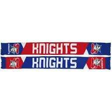 Footy Plus More SCARF Newcastle Knights Geo Pannel Scarf