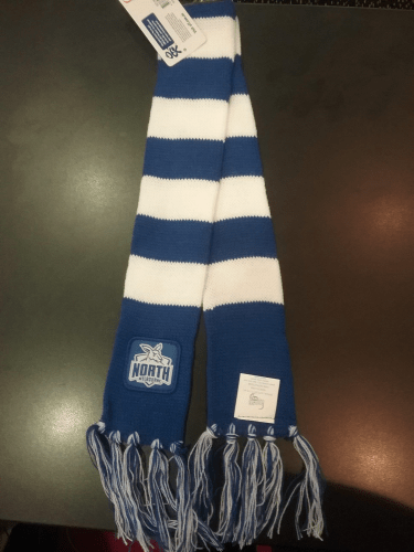 Footy Plus More SCARF North Melbourne Kangaroos Infant Scarf