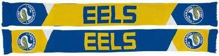 Footy Plus More SCARF Parramatta Eels Geo Pannel Scarf