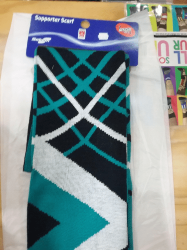 Footy Plus More SCARF Port Adelaide Power apex jacquard scarf