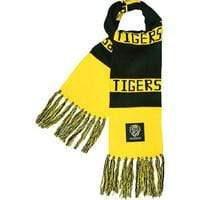Footy Plus More SCARF Richmond Tigers Bar Scarf