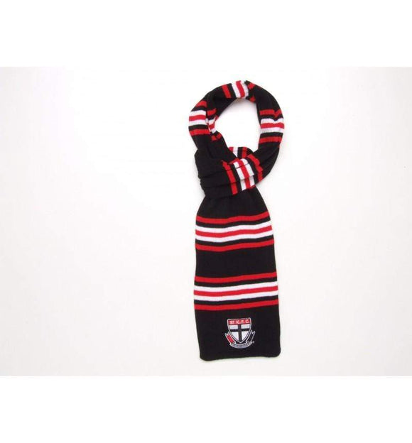 Footy Plus More SCARF St kilda saints knit loop scarf