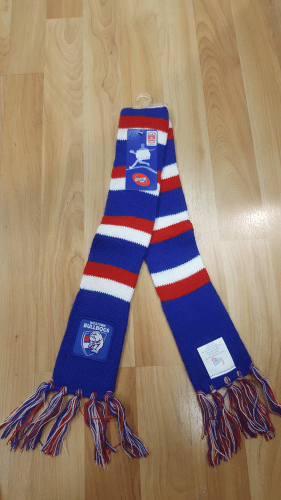 Footy Plus More SCARF Western Bulldogs Infant Scarf