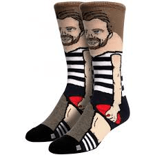 Footy Plus More SOCKS Geelong Cats Nerd Socks Patrick Dangerfield