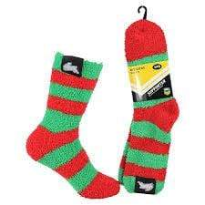 Footy Plus More Socks South Sydney Rabbitohs Bed Socks