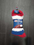 Footy Plus More SOCKS Western Bulldogs Bed Socks