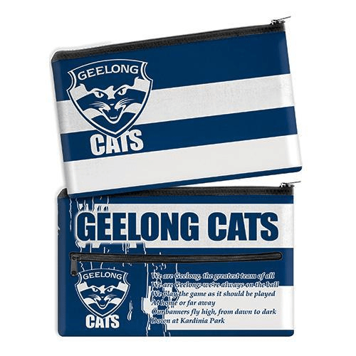 Footy Plus More stationery Geelong Cats Team Song Pencil Case