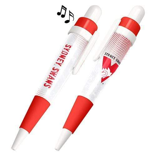Footy Plus More stationery Sydney Swans Musical Pen