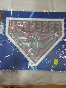 Footy Plus More sticker Essendon Bombers logo static cling