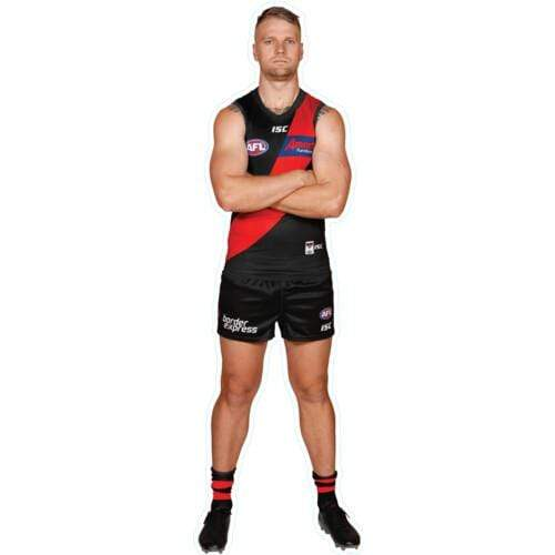 Footy Plus More sticker Essendon Bombers Player Wall Decal Jake Stringer