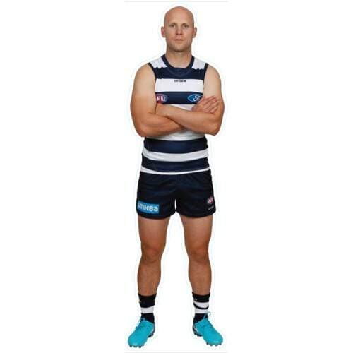 Footy Plus More sticker Geelong Cats Player Wall Decal Gary Ablett
