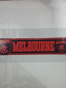 Footy Plus More sticker Melbourne Demons Team Sticker