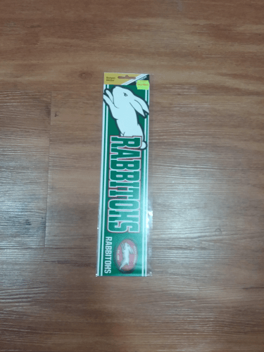 Footy Plus More sticker South Sydney Rabbitohs bumper sticker