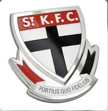Footy Plus More sticker St Kilda Saints 3D Chrome Supporter Emblem