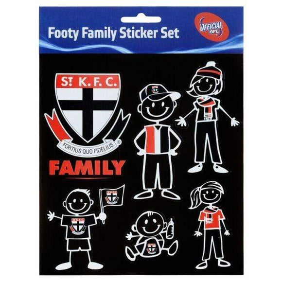 Footy Plus More sticker St Kilda Saints Family Stickers