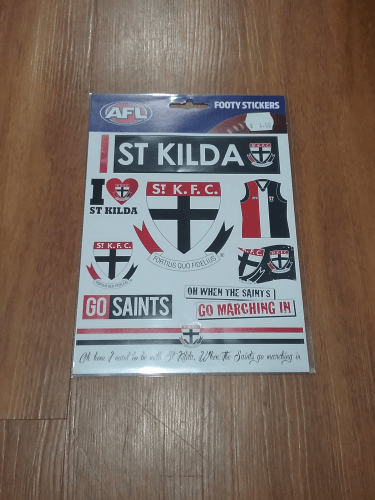 Footy Plus More sticker St Kilda Saints Stickers