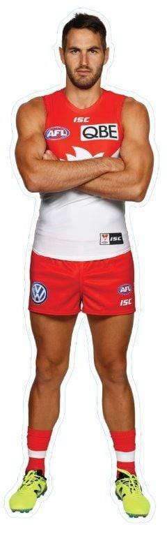 Footy Plus More sticker Sydney Swans Player Wall Decal Josh Kennedy