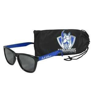 Footy Plus More Sunnies North Melbourne Kangaroos Sunglasses and Case