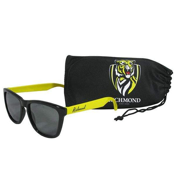Footy Plus More Sunnies Richmond Tigers Sunglasses and Case