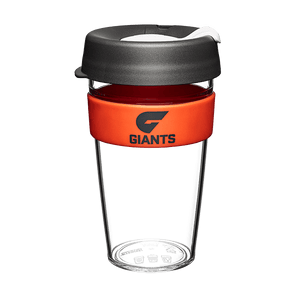 Footy Plus More travel mug GWS Giants Keep Cup Travel Mug Clear Edition 16oz/454ml