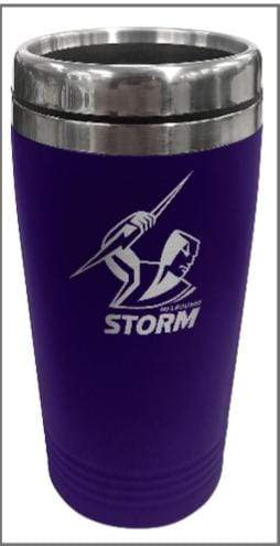 Footy Plus More travel mug Melbourne Storm Stainless Steel Travel Mug
