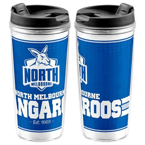 Footy Plus More travel mug North Melbourne Kangaroos Travel Mug