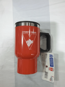 Footy Plus More travel mug Sydney Swans Travel Mug with Handle