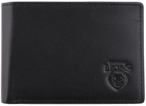 Footy Plus More WALLET Brisbane Lions Leather wallet