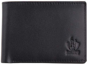 Footy Plus More WALLET North Melbourne Kangaroos Leather Wallet