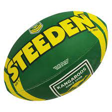 Australian Kangaroos NRL Steeden Supporter FootBall 11inch