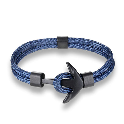 Closed-Loop Survival Cord Anchor Bracelet