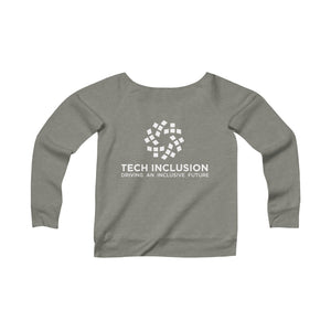 Focus on Solutions | Fleece Wide Neck Sweatshirt
