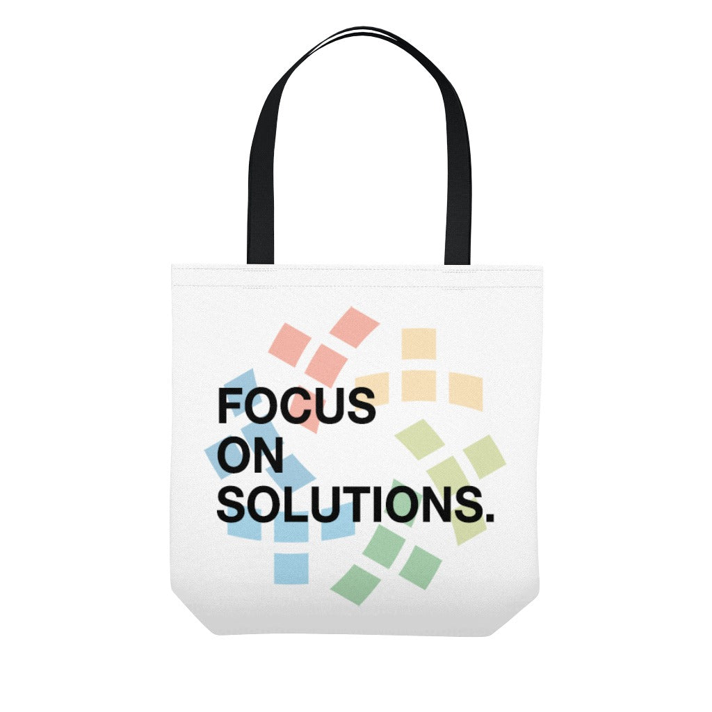 Focus On Solutions Tote Bag