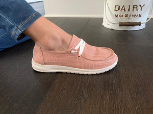Gypsy Jazz Holly - Blush Slip On Sneakers
