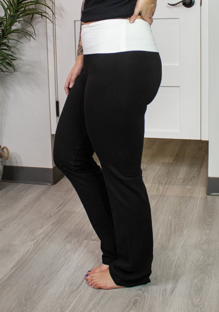 Black Yoga Band Legging