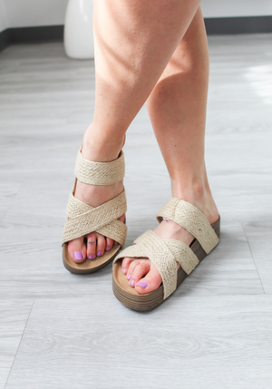 Blowfish Miri Sandals (Natural)