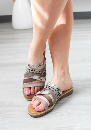 Blowfish Orrah Animal Print Sandal
